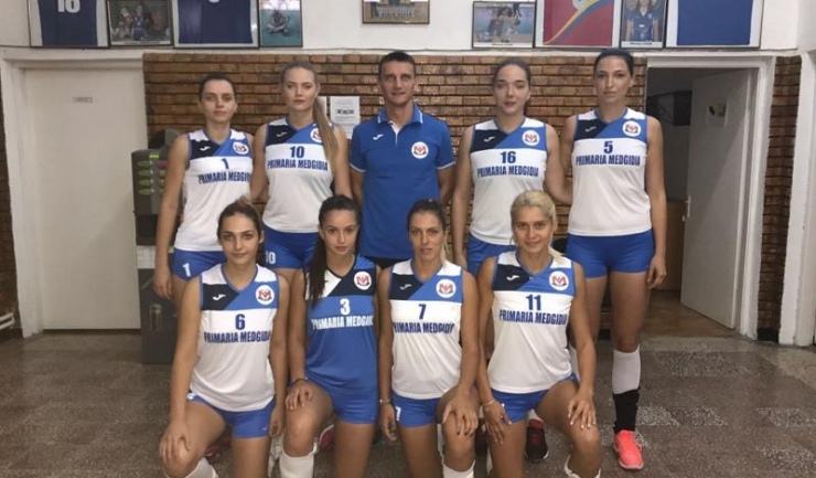 Voleibalistele antrenate de Florin Voinea au înregistrat prima victorie din acest campionat
