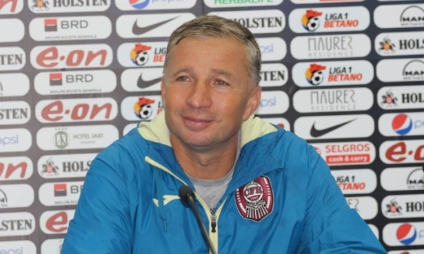 Dan Petrescu a fost mulţumit de rezultat la final