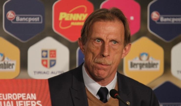 Christoph Daum nu a reuşit să califice România la turneul final al Campionatului Mondial de fotbal din Rusia, din 2018
