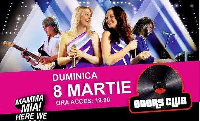 Abba Tribute Band vin în Constanța pe data de 8 Martie 2020