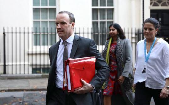 Dominic Raab, ministrul britanic pentru Brexit