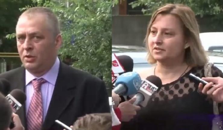 Doru Țuluș și Mihaiela Iorga Moraru