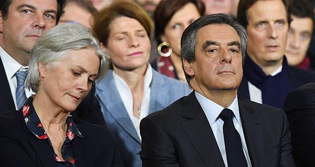 François Fillon şi soţia sa, Penelope