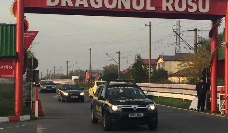 Antifrauda a verificat 160 firme și a sigilat 1.144 depozite din complexul comercial Dragonul Roșu