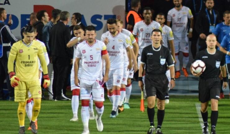 Hermannstadt nu a putut produce surpriza în partida cu FCSB