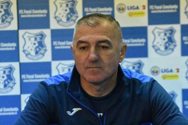 Antrenorul Petre Grigoraș așteaptă un rezultat favorabil în ultimul meci din acest an