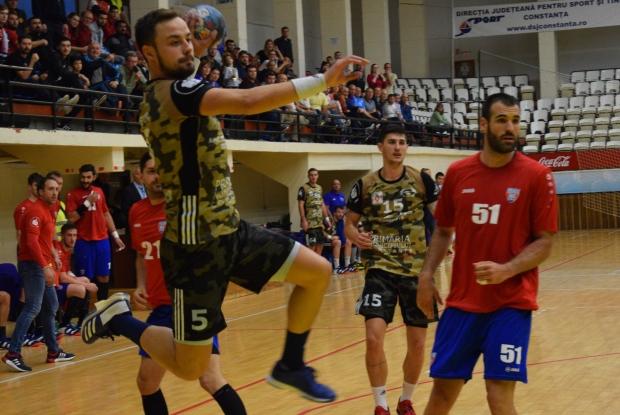 HC Dobrogea Sud Constanţa va susţine sâmbătă, de la ora 17.30, în Sala Sporturilor, un meci foarte important în Liga Naţională de handbal masculin