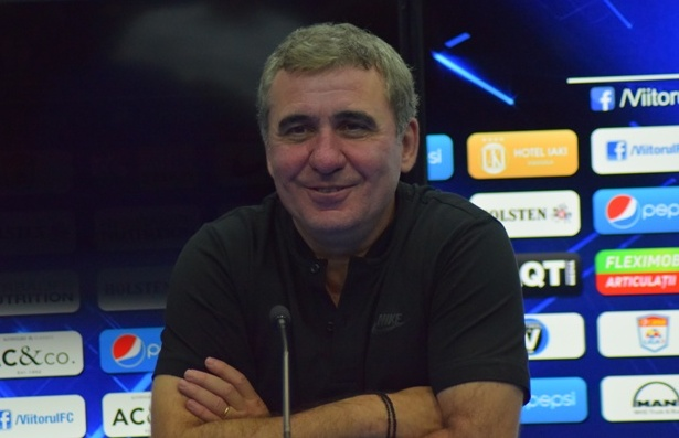 Gheorghe Hagi a fost bucuros pentru obţinerea celor trei puncte, dar nu a fost mulţumit de evoluţia jucătorilor, cu excepţia lui Gabi Iancu