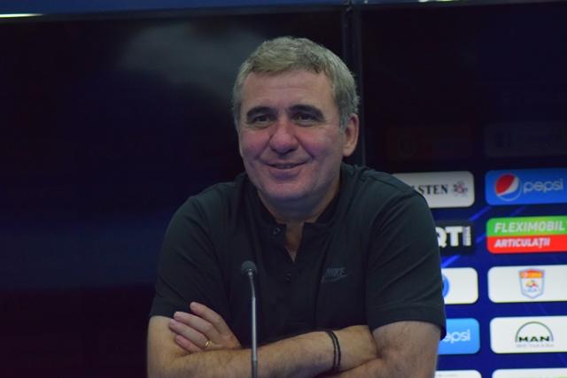 Gheorghe Hagi a fost extrem de bucuros după succesul din prima etapă
