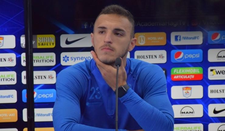 """Virgil Ghiță: """"Îmi doresc să ajung cât mai repede la echipa națională mare"""""""
