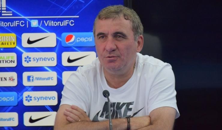"""Gheorghe Hagi, manager tehnic Viitorul: """"Ne dorim cele trei puncte"""""""