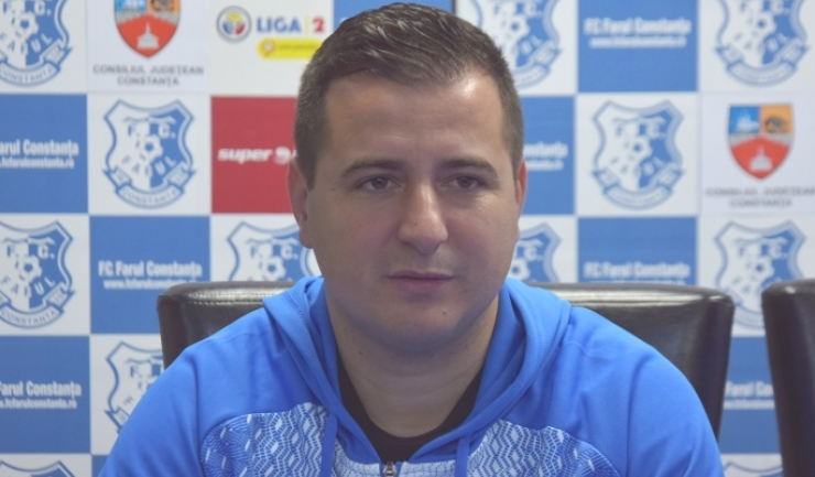 """Ianis Zicu, antrenor principal FC Farul: """"Foarte greu se câștigă împotriva lor"""""""