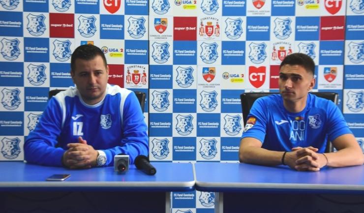 Ianis Zicu şi Ionuţ Ursu sunt încrezători înaintea partidei de sâmbătă