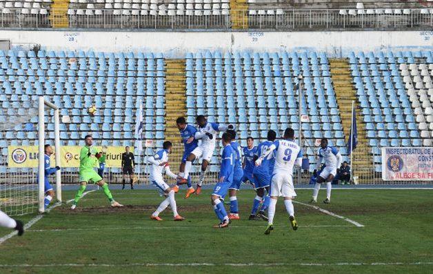 Golul înscris de Momodou Jallow a adus liniştea în tabăra constănţeană