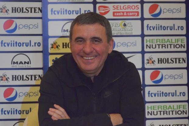 "Gheorghe Hagi, manager tehnic Viitorul: ""Trei puncte ar fi fantastice, ar fi frumoase"""