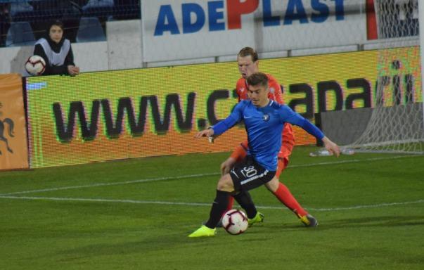 Andreias Calcan a marcat cele mai multe goluri pentru Viitorul în play-off