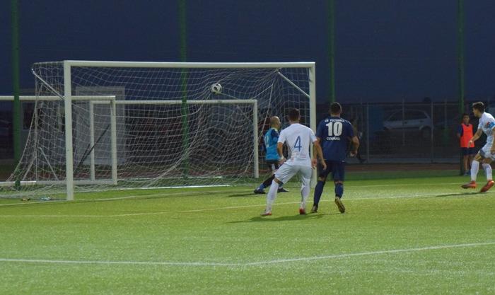 Paul Antoche a marcat primul gol al Farului în meciul de la Cumpăna