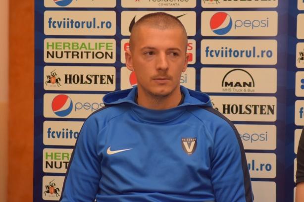 """Vlad Achim: """"Îmi doresc să dau şi eu gol, dar cel mai mult îmi doresc ca echipa să câştige"""""""