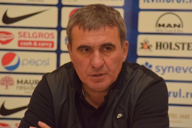 """Gheorghe Hagi, manager tehnic FC Viitorul: """"Trebuie să jucăm perfect, ca să putem să ne gândim la victorie"""""""