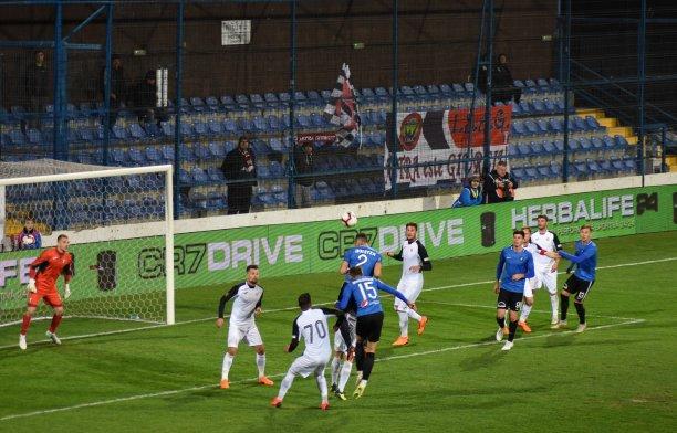 Astra Giurgiu s-a apropiat la două puncte de Sepsi Sf. Gheorghe şi Gaz Metan Mediaş