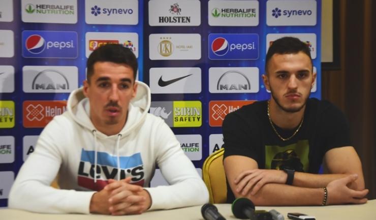 Andrei Artean şi Virgil Ghiţă sunt pregătiţi pentru confruntarea de luni