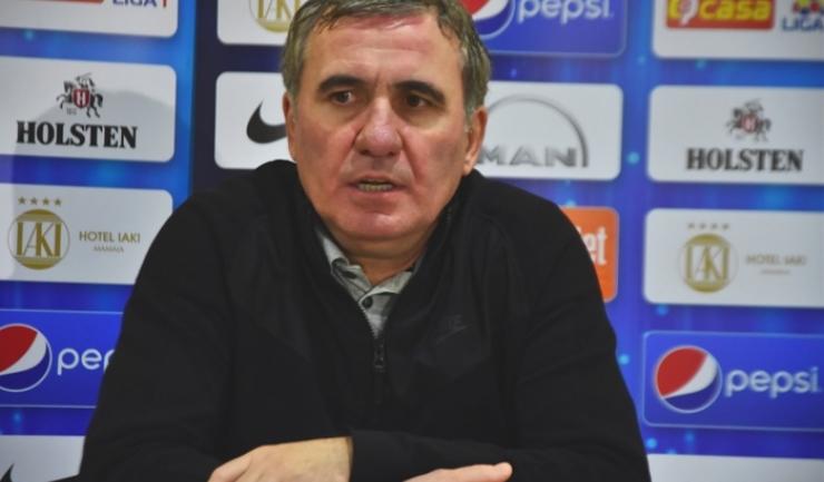 """Gheorghe Hagi, manager tehnic Viitorul: """"Avem nevoie de victorie"""""""