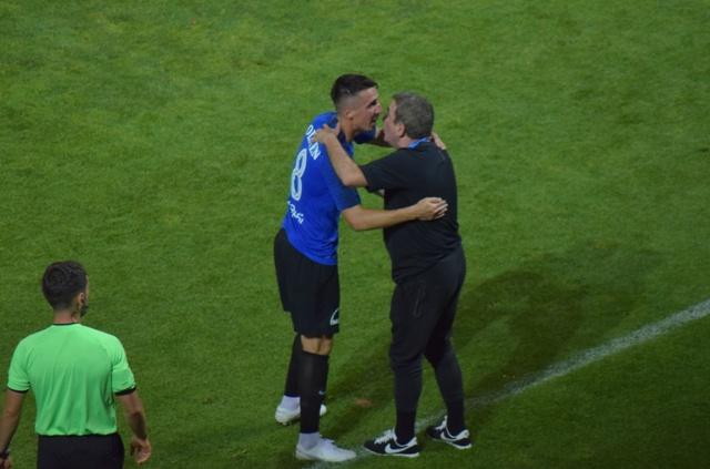 Andrei Artean a marcat un gol superb la Ploieşti