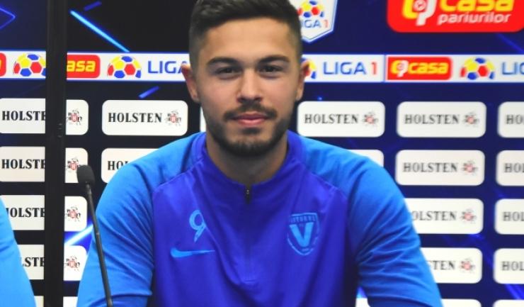 Gabriel Iancu a marcat golul formaţiei constănţene