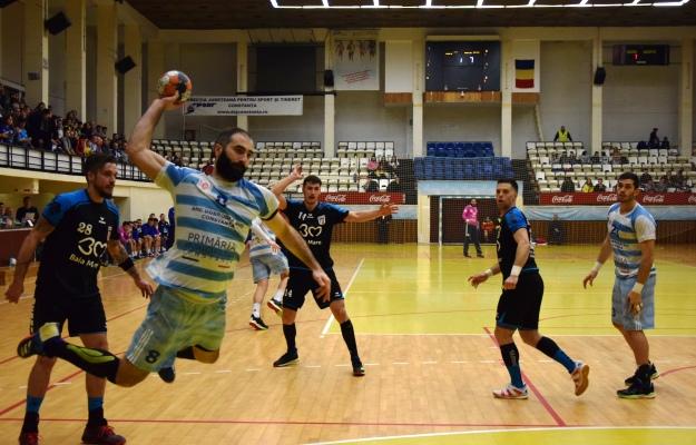 Irakli Chikovani a marcat şapte goluri pentru HCDS în partida de marţi