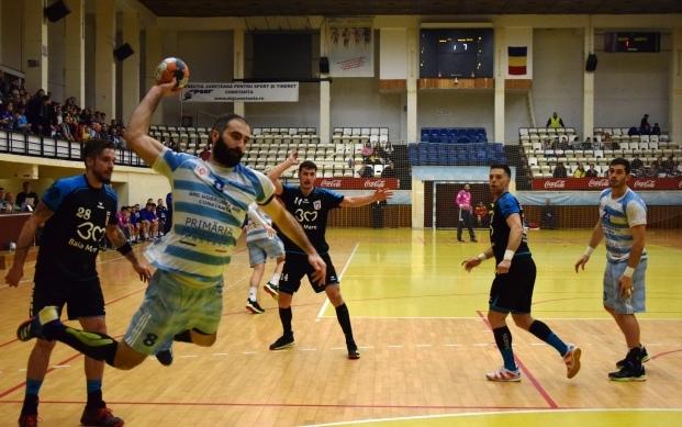 După cinci victorii consecutive, HC Dobrogea Sud s-a instalat pe primul loc în clasament