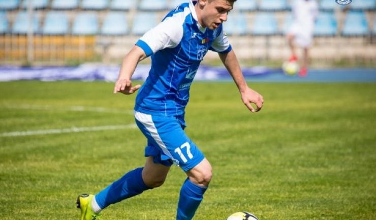 Daniel Toma a marcat primul gol pentru Farul la Mioveni (sursa foto: Facebook FC Farul Constanţa)