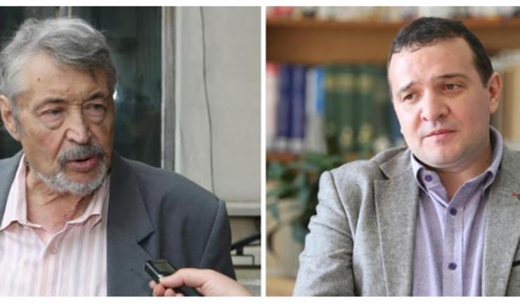 Gheorghe Dumitrașcu și Virgil Coman