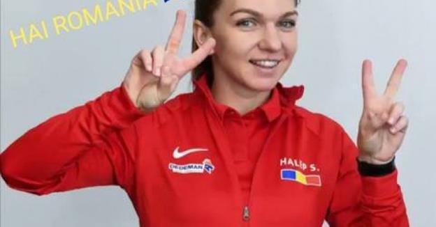 Simona Halep a câştigat al doilea meci disputat sâmbătă, la Ostrava (sursa foto: Facebook Simona Halep FanSpace)