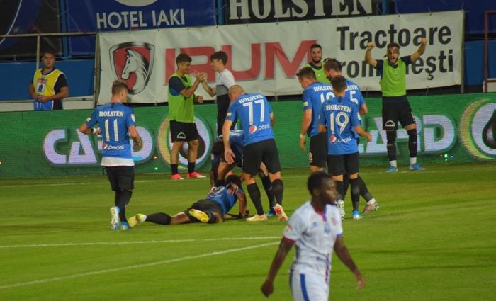 Brazilianul Eric a sărbătorit într-un mod original golul înscris în meciul cu FC Botoşani