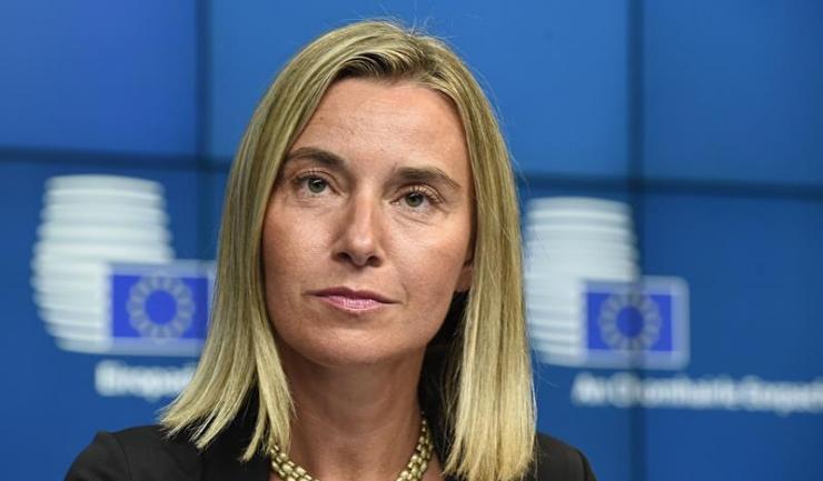 """Şefa diplomaţiei Uniunii Europene, Federica Mogherini: """"Concret, statele membre al Uniunii Europene vor instaura o entitate juridică pentru a facilita tranzacţiile financiare legale cu Iranul"""""""