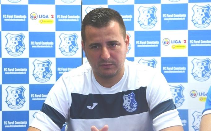 """Ianis Zicu, antrenor FC Farul: """"Vreau să să merg cât mai departe în această competiţie"""""""