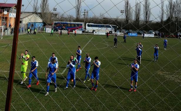Jucătorii Farului au mulţumit fanilor pentru încurajările din meciul de la Baloteşti