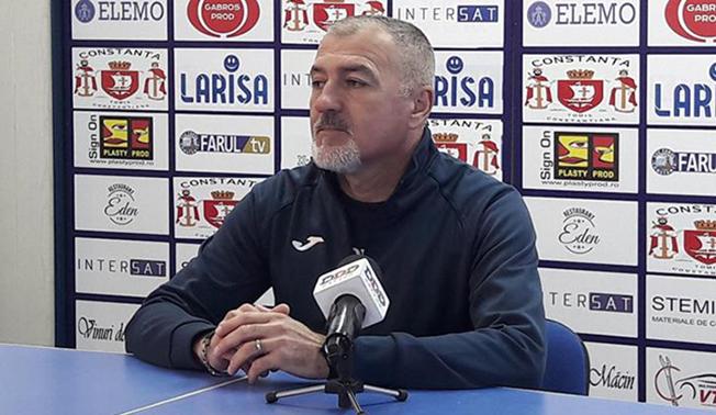 """Petre Grigoraș, antrenor principal SSC Farul Constanța: """"Niciun meci nu este ușor dacă nu îl tratezi foarte serios"""""""