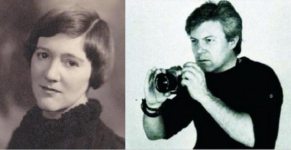 Vera Moore și John Constantin Brâncuși Moore