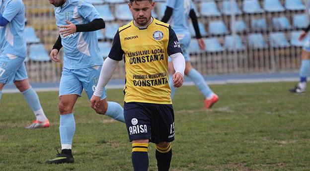 Marius Vladimir Cocîrlă este al patrulea jucător transferat de SSC Farul în pauza dintre tur și retur