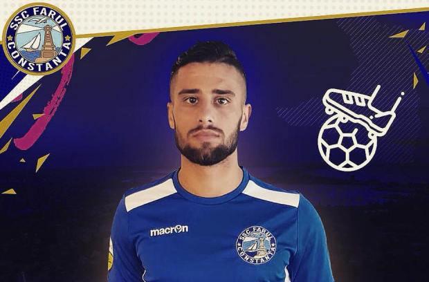 La debutul în tricoul SSC Farul, Marius Fotescu a avut o evoluţie foarte bună