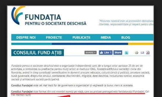 Fundația pentru o Societate Deschisă