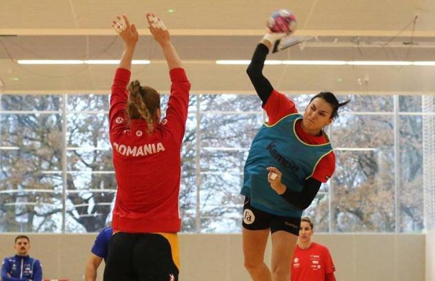 Handbalistele tricolore vor susține duminică primul joc în Grupa principală 2 (sursa foto: FRH - Federația Română de Handbal)