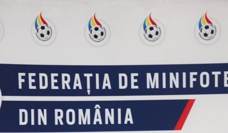 Sursa foto: Facebook Federatia de Minifotbal din Romania