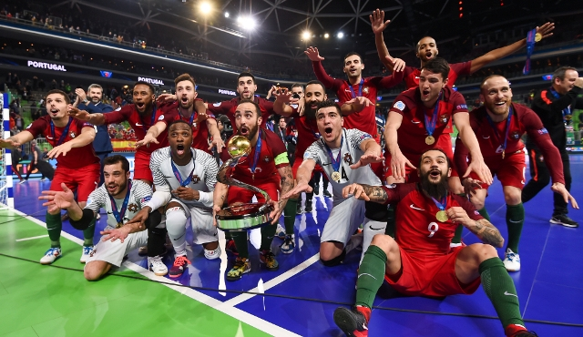 Portugalia s-a impus în prelungiri în finala cu Spania (sursa foto: www.uefa.com)