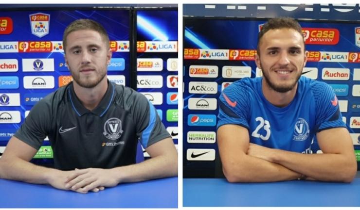 Ion Gaztanaga și Virgil Ghiță (sursa foto: www.fcviitorul.ro)
