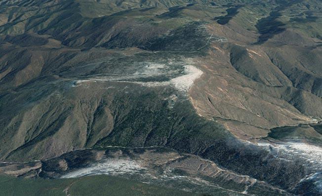 Muntele Mantap riscă să se prăbușească și să trimită în atmosferă substanțe radioactive