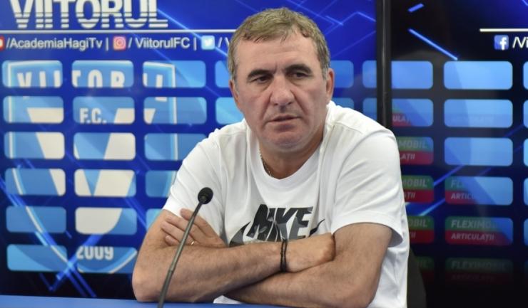 """Gheorghe Hagi, manager tehnic Viitorul: """"Va fi un meci cu ritm şi intensitate foarte bună"""""""