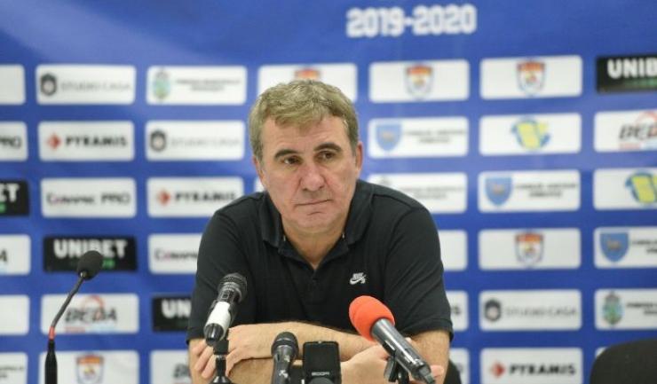 """Gheorghe Hagi, manager tehnic Viitorul: """"Dacă am rămas, am rămas să facem iar lucruri frumoase"""""""