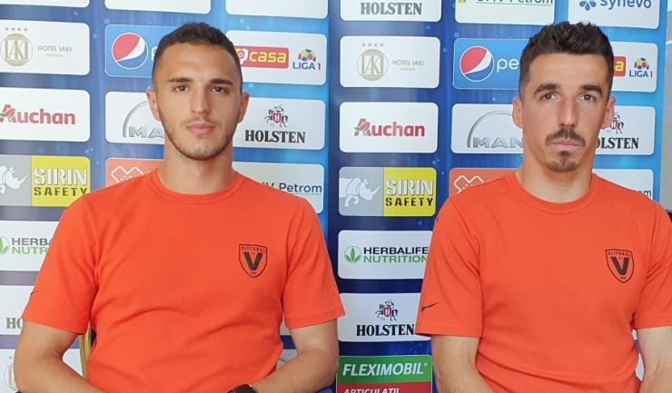 Virgil Ghiță și Andrei Artean se gândesc doar la victorie